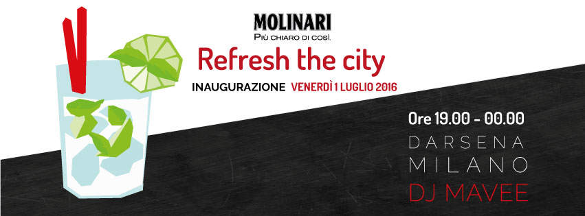 evento Molinari Darsena Milano