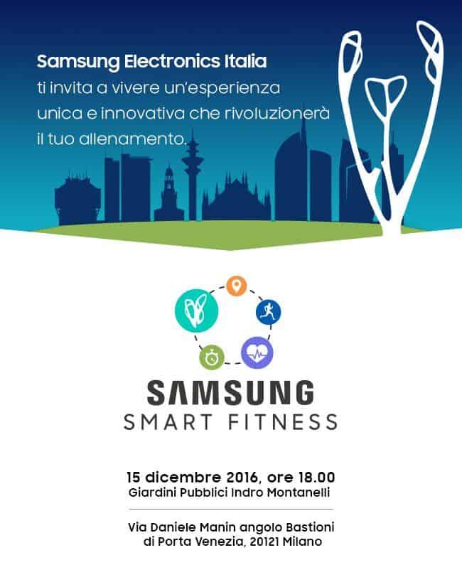 samsung smart fitness milano