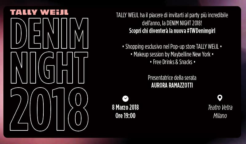 DENIM NIGHT 2018 TEATRO VETRA