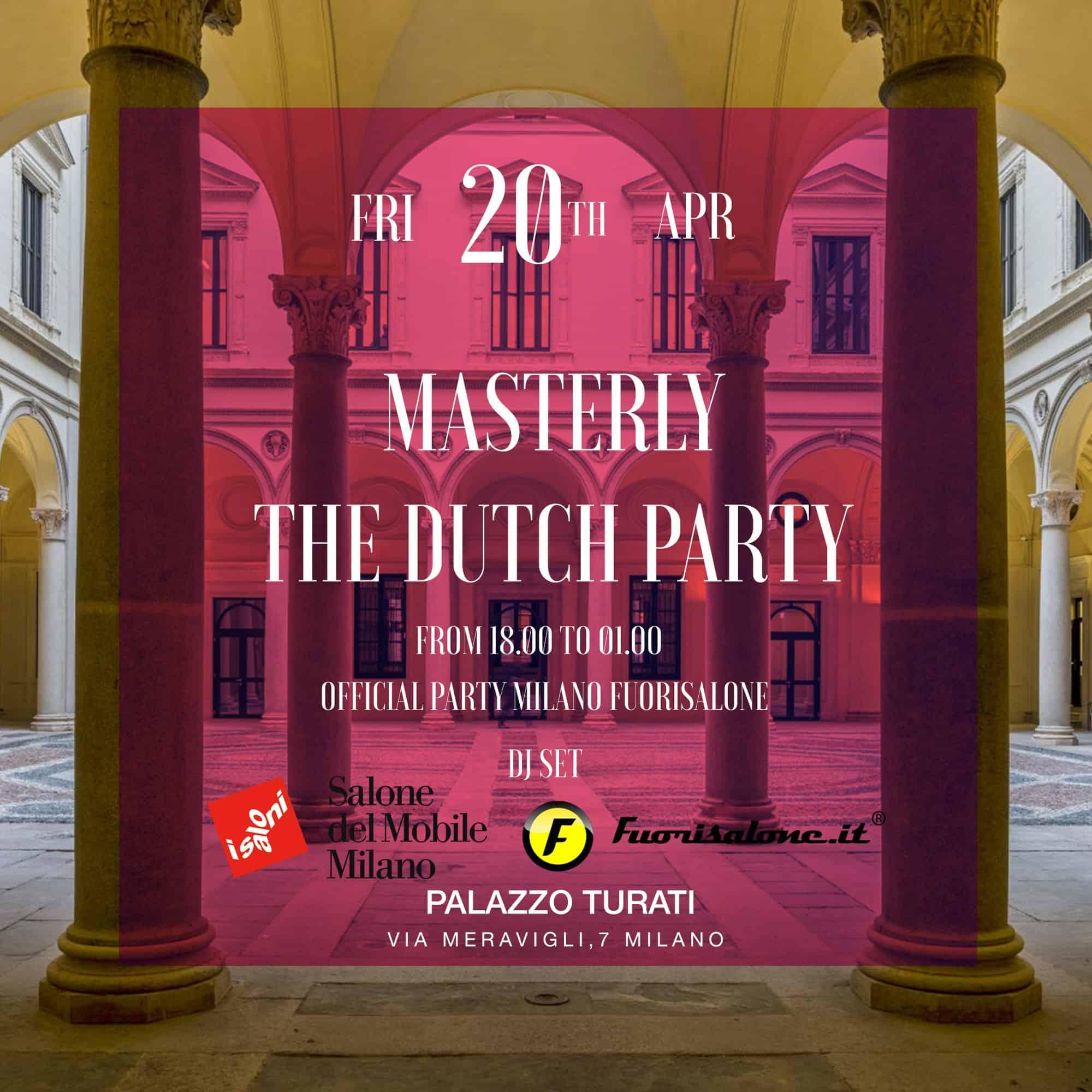 Palazzo Turati Cocktail Party | Fuorisalone 2018