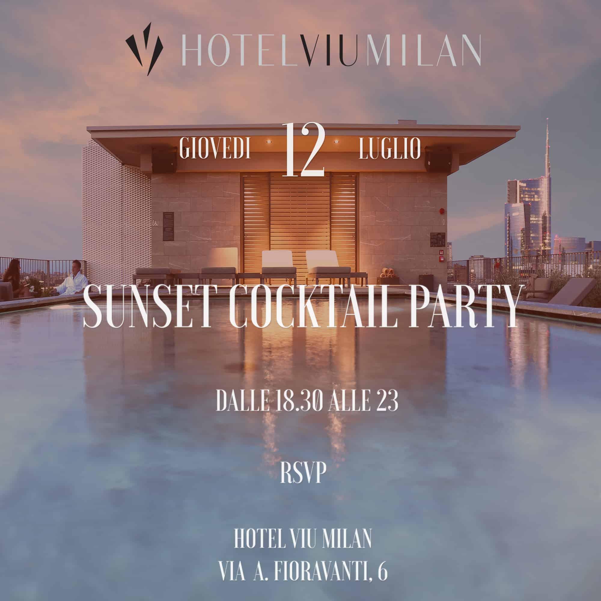 Hotel Viu Milano Rooftop Capitanio Management