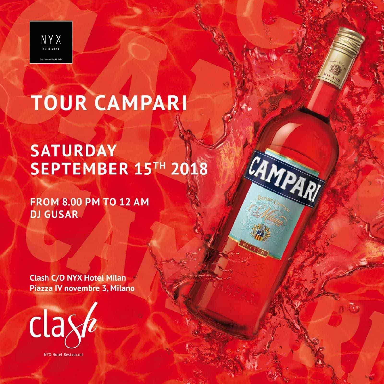 Campari Cocktail Party | Giardino Hotel NYX Milano