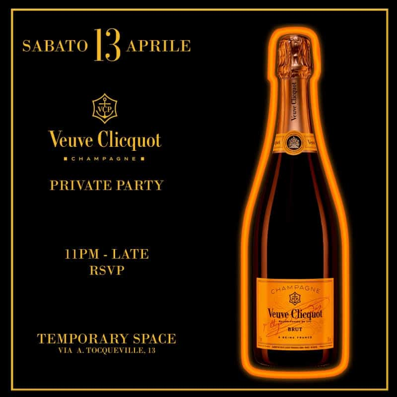 Veuve Clocquot Private Party Milan