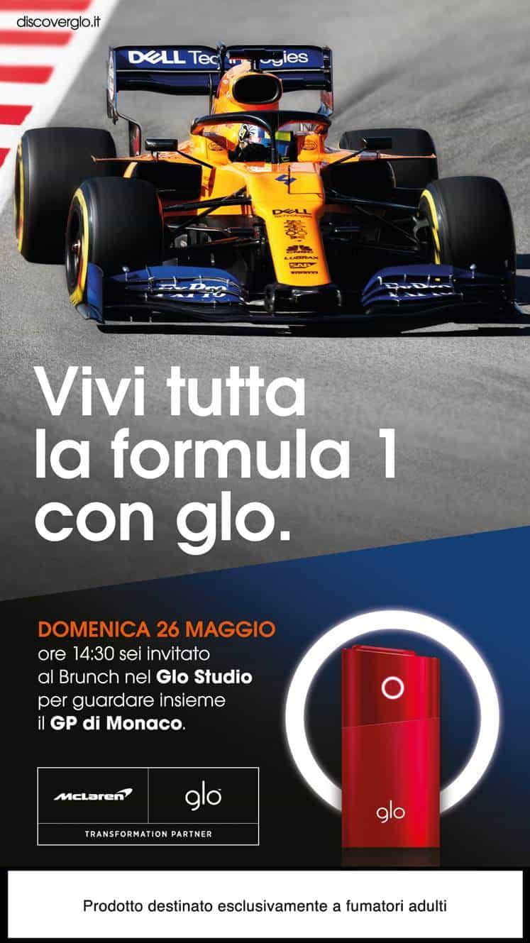 brunch glo formula1