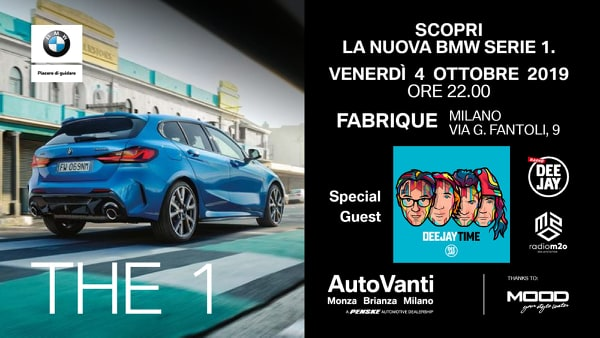 nuova BMW serie1 cocktail party