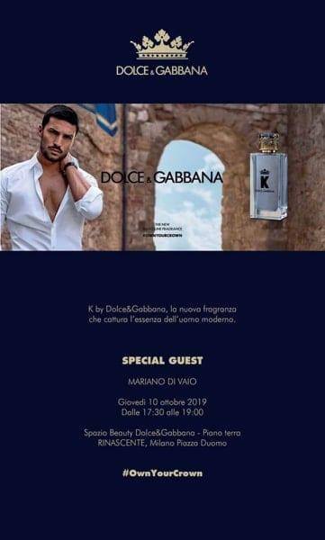 Evento K Dolce & Gabbana