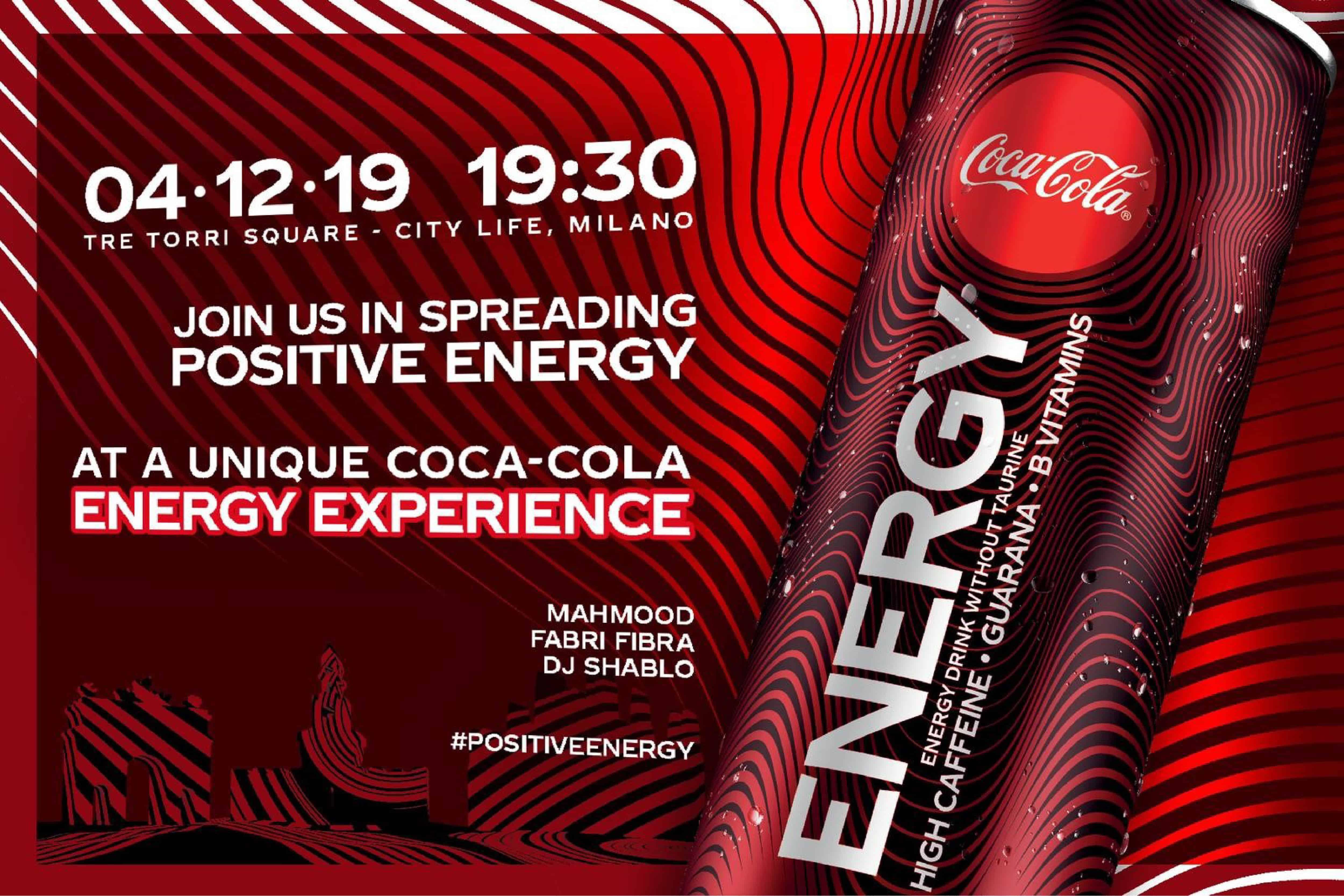 coca cola energy experience live