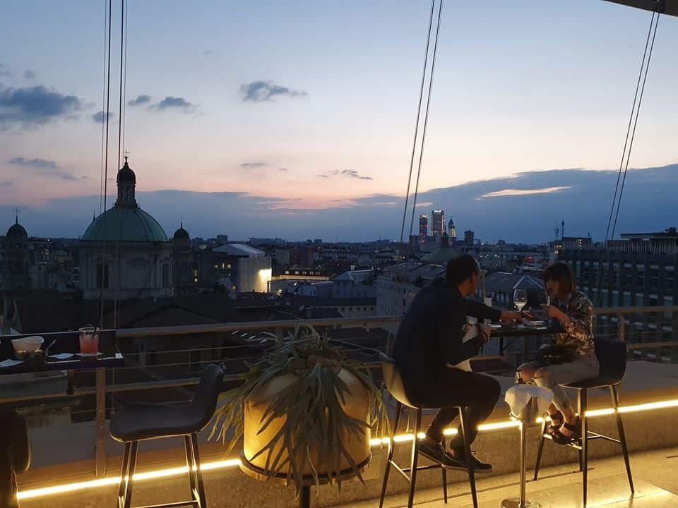 the roof milano info e prenotazioni